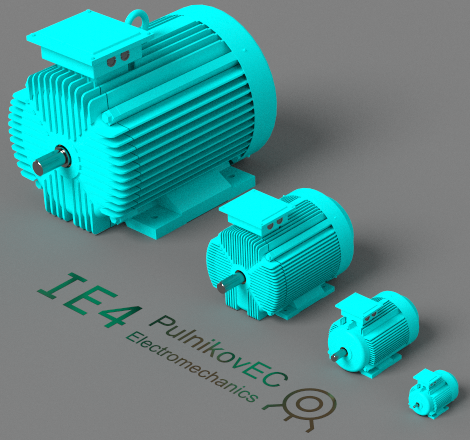 IE4 series of asynchronous motors