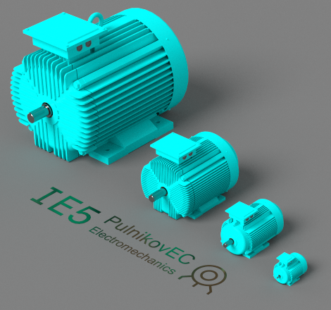IE5 series of asynchronous motors